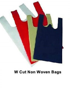 w Cut Non Woven Bags